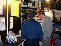 GIFA2007  Lubrolene displayed die casting commodities